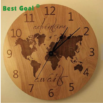 Laser Cut World Map.Laser Cut World Map Laser Engraved Travel The Wooden World Clock