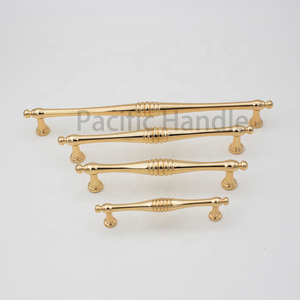 Fancy Cabinet Handles Real Gold Kitchen Handles