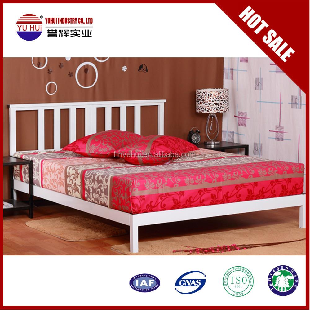Métal plate - forme bedframe lit king size lit cadre-Lit en métal ...