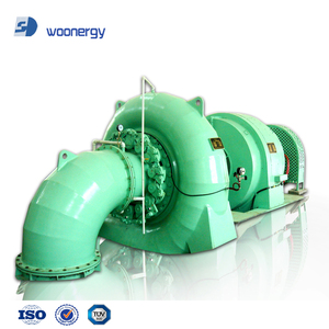 2000Kw 2mw Hydropower EPC Project Equipment Small Water Turbine and Water Turbine Generator Francis Water Turbina