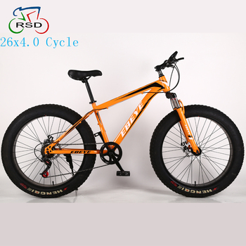 Chinese Factory 26x4.0 Big Tire Fat Bike,Alibaba Stock Alloy Frame ...