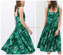 Vestidos color verde jade para nina