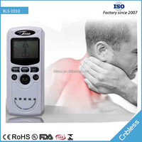 BLS1010 Eight work programs medical therapy device for body fatigue and pain relief with adaptor