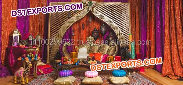 Muslim Nikah Stage Decorations