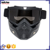 BJ-MG-022 Motor TPU Modular Full Face Mask helmet Goggles glasses