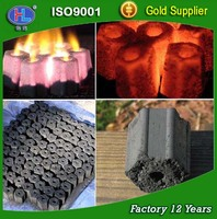 low ASH high calory Black Lump Charcoal for BBQ barbecue