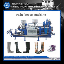 two color full-automatic rain boots injection moulding machine