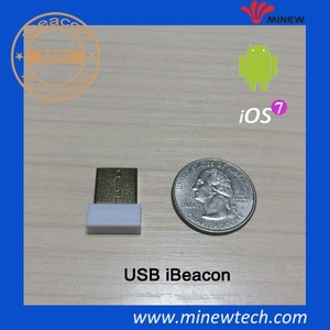 New Arrival iBeacon, iBeacon with Power Supply and free apps!