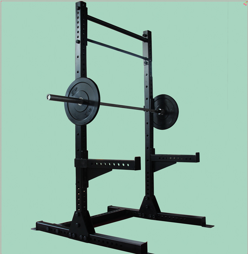 JG-8101 power rack,crossfit rack commercial gym equipment,half cage power rack for fitness Half Rack