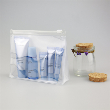 Customized Cheap Portable Transparent Bag Waterproof Clear Plastic PVC Cosmetic Bag