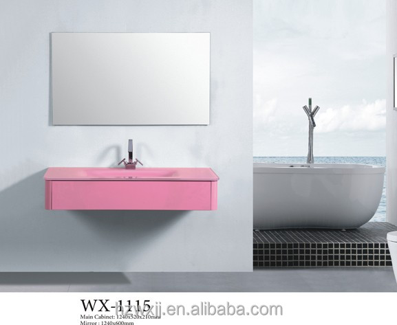 Economical Bathroom Vanities Pink Vanity Table salon furniture