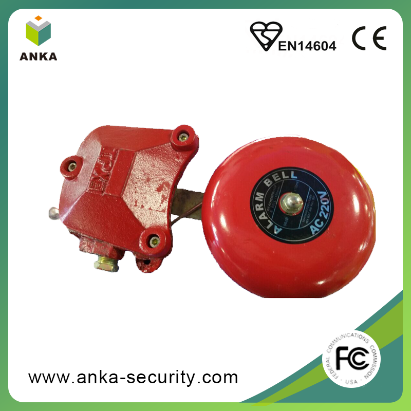 Free sample DC12V conventional fire alarm siren annunciator bell