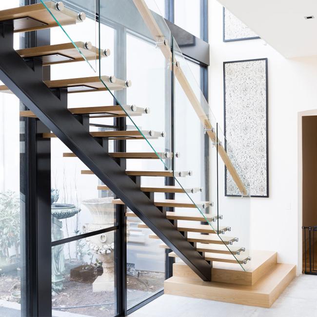 Classic Wooden Staircase Design/mono Stringer Staircase - Buy Mono Stringer  Staircase,Single Stringer Staircase,Classic Wooden Staircase Product on