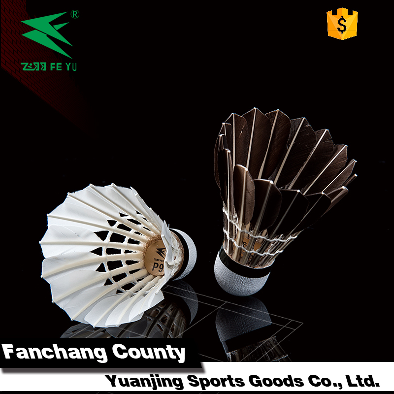 Best quality and cheap price badminton shuttlecock for competition