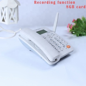 CDMA fixed wireless phone call recording pci card analog cordless phone