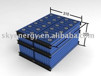 Lithium Rechargeable Battery Pack 36V 100Ah for Electric Car