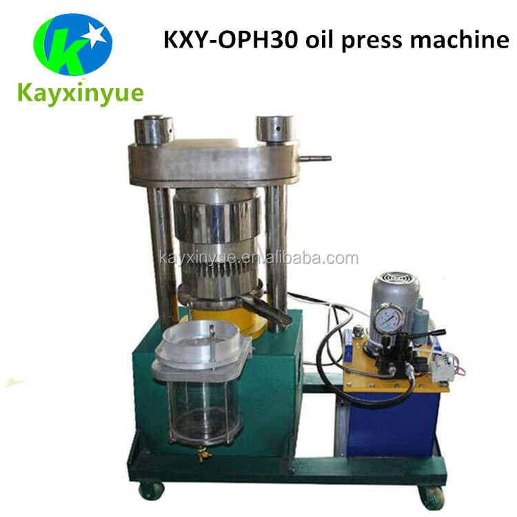 Easy Operation Automatic Olive Oil Press / Palm Oil Processing Machine