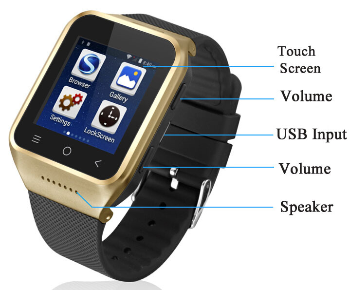 Best Wrist Watch Cell Phone Cheap Price Bluetooth Watch Wrist Mobile
