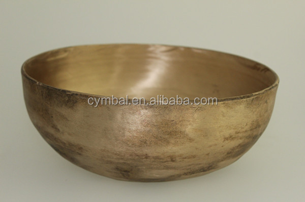 ARBOREA 100% Handmade Alms and brass singing bowls