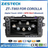 For Toyota corolla 2004-2006 auto parts double din car dvd gps with DVD/Radio/GPS/Bluetooth/3G/SD/USB/SWC