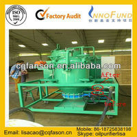 Compressor Oil Filtration/ Recycling, Engine oil recycling plant/used black motor oil recovery system
