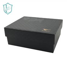 Hign 질 Black Wine 2 병 일기 Gift Box with Custom Logo Print