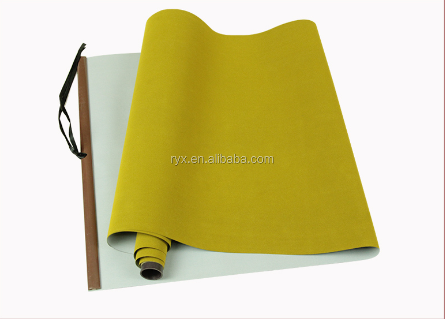 Master chinese caligraphy practice water wriitng fabric with blank mat