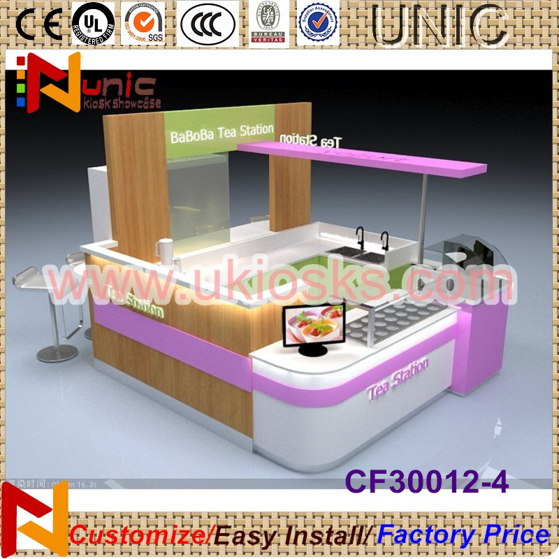 2014 made in China glowing frozen ice cream kiosk/yogurt kiosk with high quality