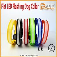 High Quality Dog Collar Making Supplies, Flash Custom Dog Collar , Super Bright Dog Collar And Leash