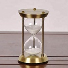 Home Decor Brass 60 Minutes Sand Timer Hourglasses