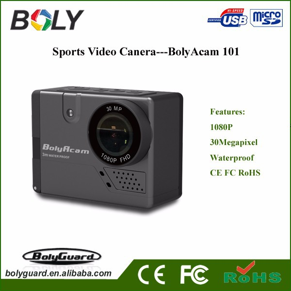 hot sell video recorder Voice Control 33ft Water-proof without Housing digital camera 1080P sport camera