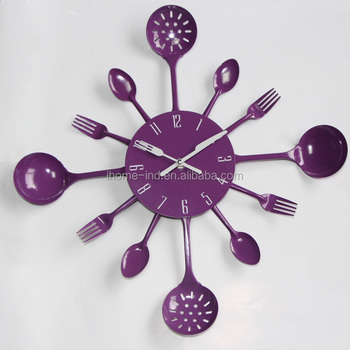 Home Decoration Pieces Large Decorative Wall Clocks Colorful Kitchen Clock  - Buy Home Decoration Pieces,Large Decorative Wall Clocks,Kitchen Clock ...
