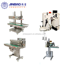 Heat sealing Continuous Sealing Machine JBF-R Series industrial plastic bag sealer