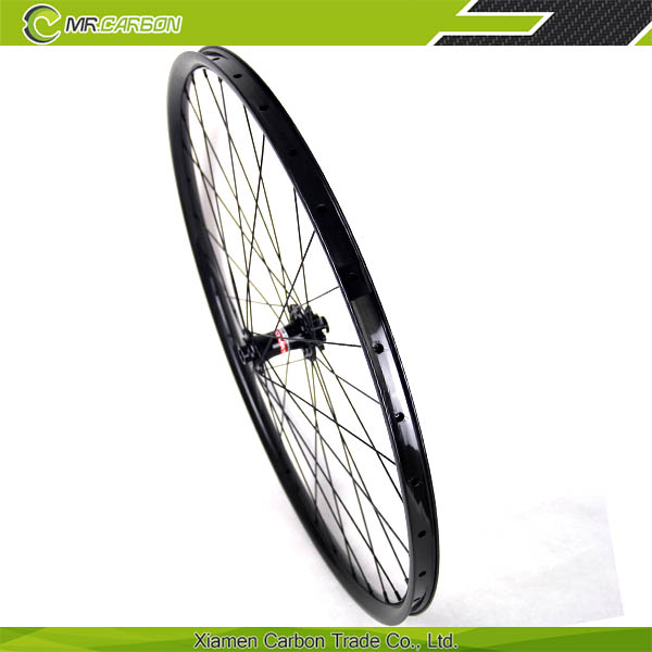 "hookless 27.5"" mtb carbon wheels 30mm/35mm ruedas ciclismo chinas 27.5 mtb carbon"