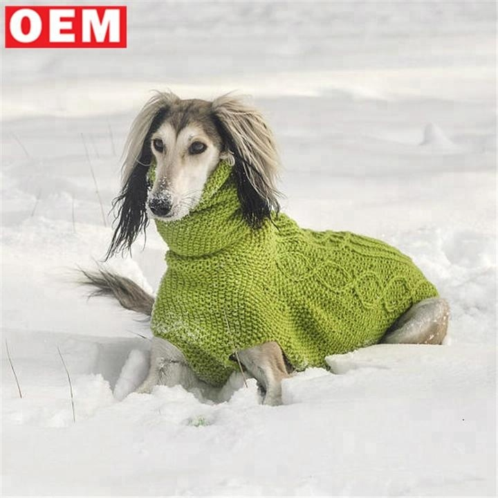 Nach Rollkragen Kabel Italienische Pullover Häkeln Maß Hund Mantel Windhund Stricken Buy Winter lFKJT13c