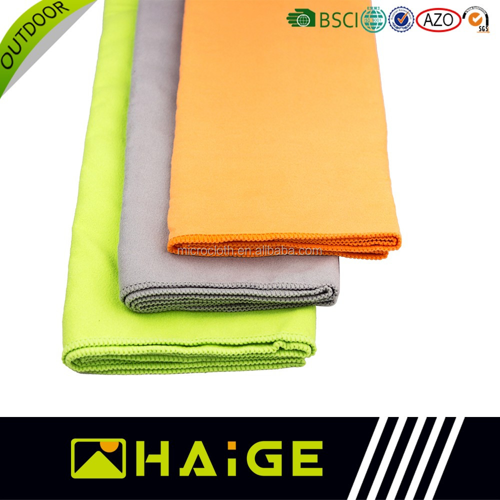Towel Stock Lots: Terry Yoga Towel Microfiber Stock Lot