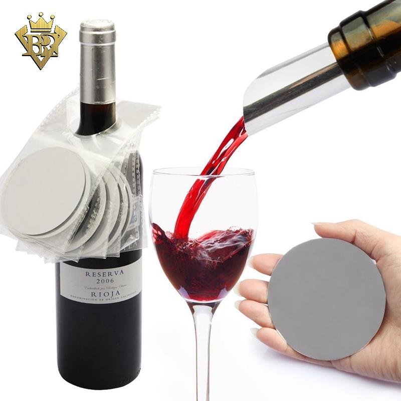 Pack of 2 Discs Drop Stop Wine Breather