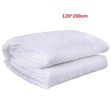 High quality White quilted mattress protector hotel hospital bed waterproof mattress cover