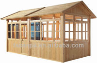 Garden furniture Prefab Wood House FS-LT02 Gazebo