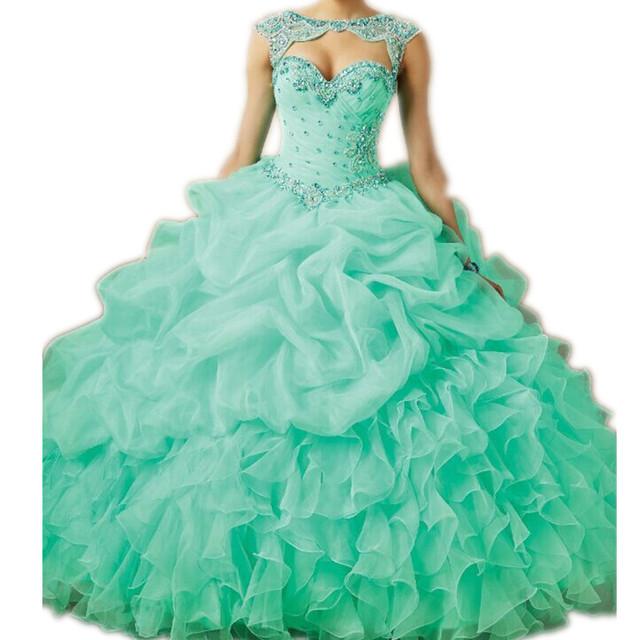 Vestido Lentejuelas Verde Anos