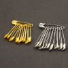 Safety Pins Coiled Design with Nickel Plated Steel For All Types Of Fabrics and Clothing, Arts & Crafts Projects