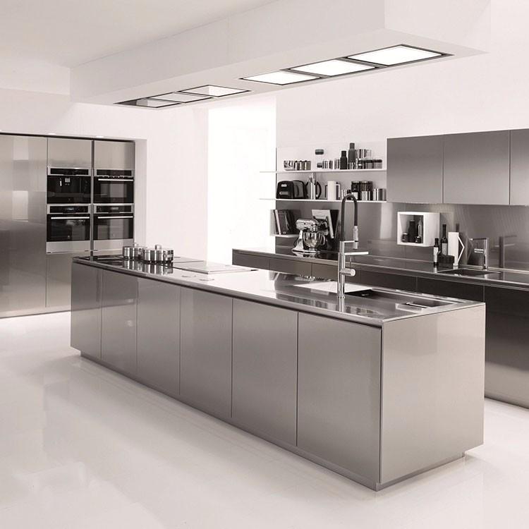 Modern Design Waterproof Aluminium Kitchen Cabinet - Buy ...