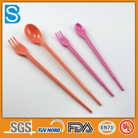 Long handle colorful chemical spoons