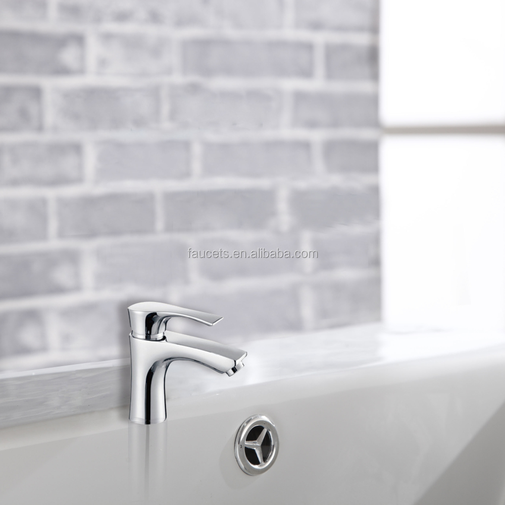 Installation Type Contemporary Hot and Cold Lavatory Faucet ABF143