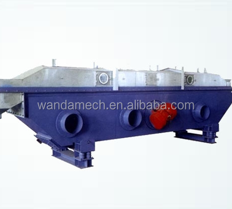 ZLG Dryer of plastic wood dryer Vibrating Fluid Bed machine