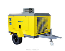 China shanghai factory price ingersoll rand diesel portable air compressor/industrial air compressor/low noise air compressor