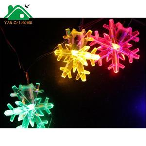 Multicolor Snow Flake Light Decoration Lighting