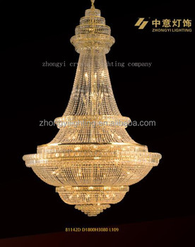 big chandelier hotel hall decoration lighting wedding chandelier lamp hanging lamp traditional - Traditional Hotel Decoration