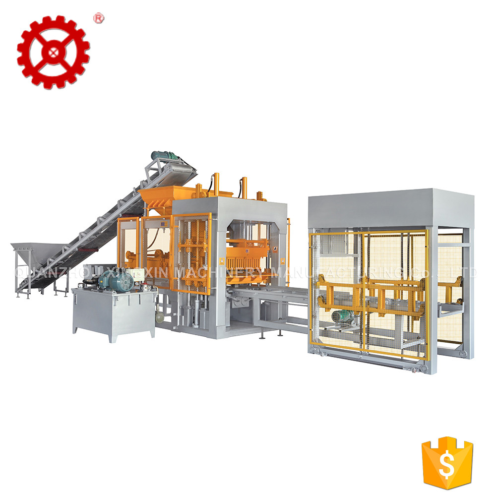 QT6-15 Factory Price Fully Automatic Cement Hollow Block Machine For Sale