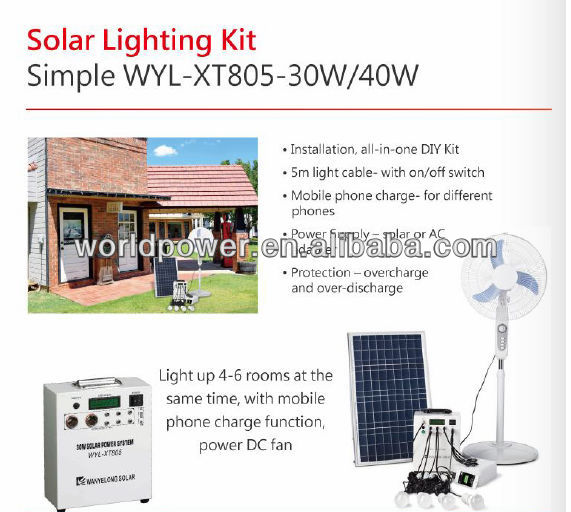 Small Home Solar System 30w Solar Shed Lighting Kit - Buy Solar Shed  Lighting Kit,Lighting Systen,Solar System Product on Alibaba com